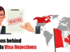 Reasons behind Canada Visa Rejections